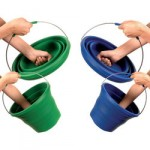 pack away silicone collapsible bucket