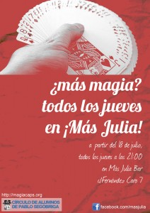 Más magia en Más Julia