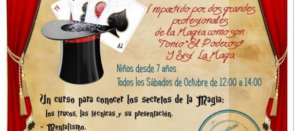 Curso de magia para niños en Madrid